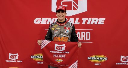 QUALIFYING: Sam Mayer Races To General Tire Pole At Vegas