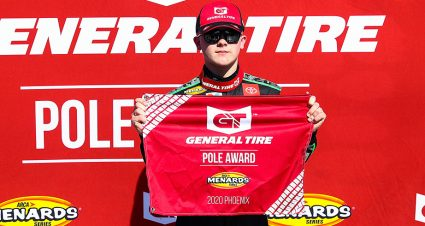 QUALIFYING: Ty Gibbs Rockets To General Tire Pole
