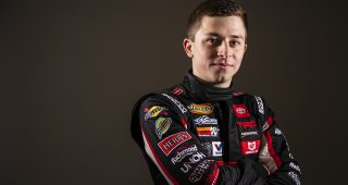 Ryan Repko portrait before the Lucas Oil 200 Driven By General Tire for the ARCA Menards Series at Daytona International Speedway on Friday, Feb. 7, 2020. Photo by Kyle Zedaker