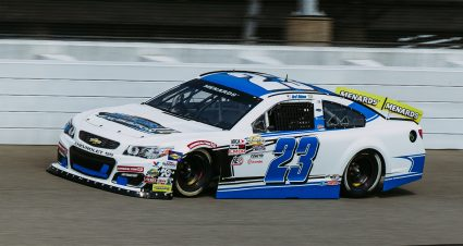 PRACTICE: Bret Holmes Sets The Pace at Michigan International Speedway