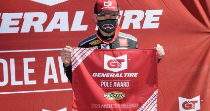 QUALIFYING: Ty Gibbs Rockets To Winchester Pole