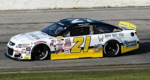 Sam Mayer, driver of the #21 Chevy Accessories Chevrolet, participates in the qualifying of the Menards.com 200 presented by SPxE for the ARCA Menards series on July 31, 2020 at at Toledo Speedway in Toledo, Ohio. (Nic Antaya/ARCA Racing)