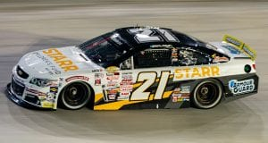 Sam Mayer, driver of the # 21 Starr Children's Fund Chevrolet, during the Bushís Beans 200 at Bristol Motor Speedway for the ARCA Menards Series in Bristol, Tennessee on September 17, 2020. (Jacob Kupferman/ARCA Racing)