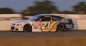 Sam Mayer, driver of the #21 Chevy Accessories Chevrolet, during the Calypso Lemonade 200 for the ARCA Menards Series at Lucas Oil Raceway in Brownsburg, Indiana on Friday, July 3, 2020. (AJ Mast/ARCA Racing)