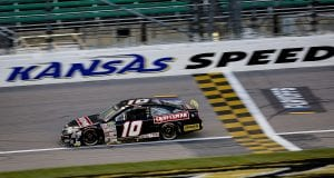 Corey Heim, driver of the #10 Craftsman Toyota during the Speediatrics 150 for the ARCA Menards Series at Kansas Speedway on Friday, October 16, 2020. (Barry Cantrell/ARCA Racing)