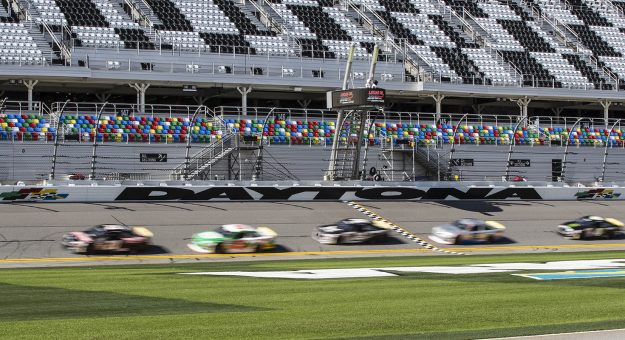 During practice for the Lucas Oil 200 Driven By General Tire for the ARCA Menards Series at Daytona International Speedway on Friday, Jan. 7, 2020.