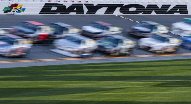 Daytona International Speedway during the Lucas Oil 200 Driven By General Tire for the ARCA Menards Series at Daytona International Speedway on Saturday, Feb. 8, 2020. Kyle Zedaker/ARCA Racing