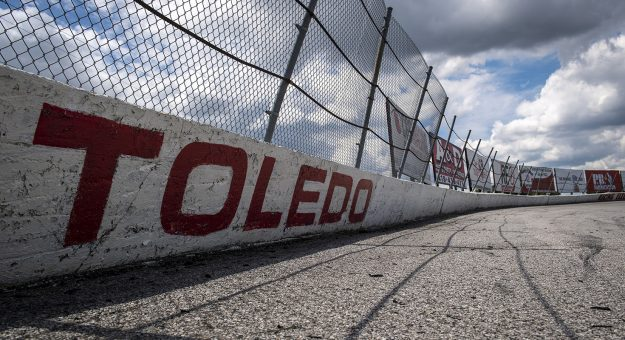 The Toledo Speedway is pictured before the Menards.com 200 presented by SPxE for the ARCA Menards series on July 31, 2020 at at Toledo Speedway in Toledo, Ohio. (Nic Antaya/ARCA Racing)