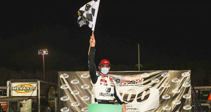 Sammy Smith Cruises To Checkered At 5 Flags For First ARCA Menards Win