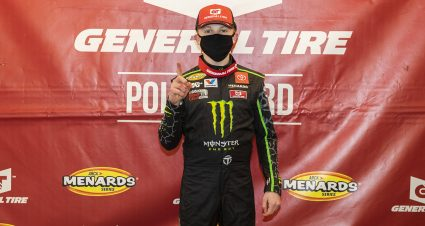 Phoenix Qualifying Rained Out; Ty Gibbs Awarded General Tire Pole