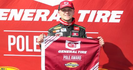 QUALIFYING: Ty Gibbs wins General Tire Pole Award at Elko