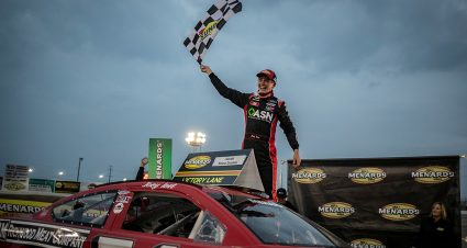 Joey Iest earns first ARCA Menards win with West Series victory at Colorado National
