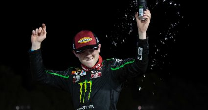 Ty Gibbs wins thriller at Winchester for seventh ARCA Menards Series victory of 2021