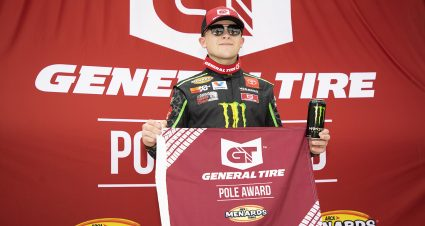 QUALIFYING: Ty Gibbs wins General Tire Pole Award at Milwaukee Mile