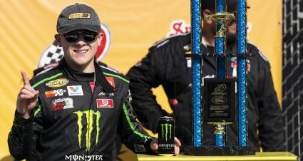 Ty Gibbs leads every lap at Milwaukee Mile for ninth win of 2021 season