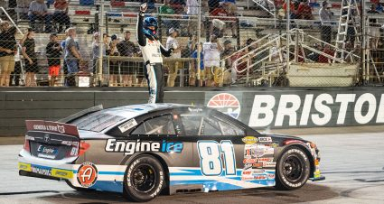 Sammy Smith wins East Series championship while teammate Ty Gibbs takes checkered at Bristol