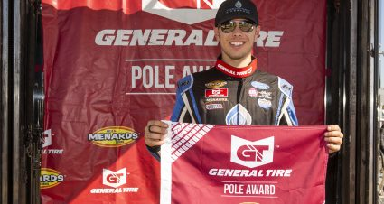 QUALIFYING: Dean Thompson wins General Tire Pole Award at All American Speedway