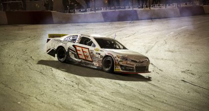 P.J. Pedroncelli pulls off stunner at All American Speedway for first ARCA Menards Series West win